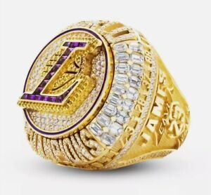 2020 LOS ANGELES LAKERS NBA Championship Ring LEBRON JAMES Size 11