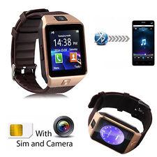 Bluetooth Smart Watch Wristwatch with Camera for Samsung Huawei P8 P9 LG V10 V20