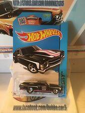 2015 Hot Wheels HW CITY '71 El Camino 18/250 (BLACK Version)