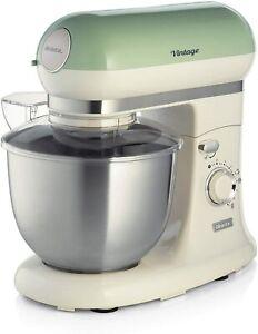 NO BOWL**EU PLUG*  Processor Vintage Food processor-1588 Green