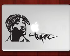 """Tupac Decal Sticker Skin for Apple MacBook Air/Pro Laptop 13"""" 15"""" 17"""""""