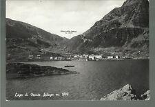 75828  madesimo  sondrio vecchia cartolina lago di monte spluga
