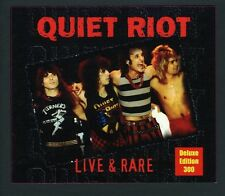 Quiet Riot - Live & Rare-Deluxe Edition (2009, CD NEUF)