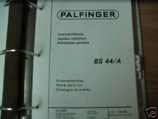 Palfinger BS 44/A Auxiliary Stabilizers Parts List