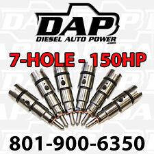 DAP + 150HP Performance Injectors 150 For Dodge RAM Diesel Cummins 24v 1998-2002