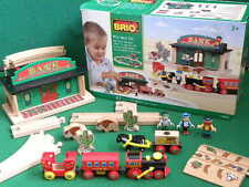 BRIO WILD WEST SET for Thomas & Friends Wooden Railway TRAINS ENGINE TOY SET