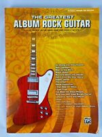 The Greatest Album Rock Guitar Sheet Music Book