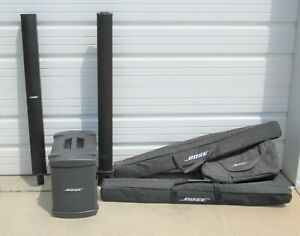 Bose Bass Module B1 & L1 Model II Cylindrical Radiator Loudspeaker System & Bags
