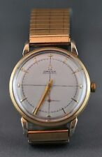 Gold Plated Case Men's OMEGA Wristwatches