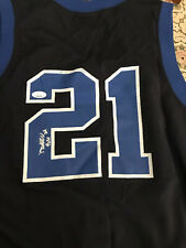 Duke Blue Devils Autograph signed Matthew Hurt jersey JSA