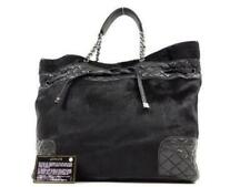 Cadena De Pelo Pony Chanel acolchado de piel de cordero bolso 232104