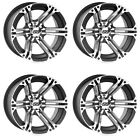 4 ATV/UTV Wheels Set 12in ITP SS212 Machined 4/137 5+2 CAN