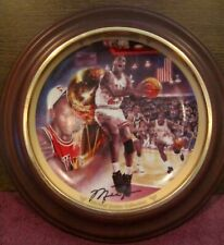 Michael Jordan - 1991 Championship Bulls Collector's Plate - Framed