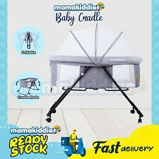 Baby Bassinet Infant Portable Foldable Crib Travel Cot Multifunctional Cradle