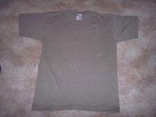 Military t shirt brown t shirt Marine t shirt Small army shirt military surplus