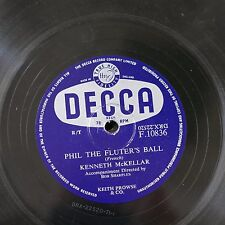 78rpm KENNETH McKELLAR phil the fluters ball / ring the bluebells of scotland