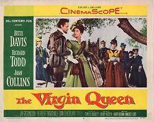 "Bette Davis Joan Collins The Virgin Queen Original 11x14"" Lobby Card LC4"