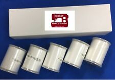 Genuine Brother Embroidery Bobbin Thread, White #60,1100 metres,5 PACK X81164001