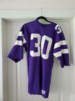 Vintage purple Sand-Knit football jersey #30 (adult size M)