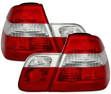 2 FEUX ARRIERE RED WHITE BMW SERIE 3 E46 BERLINE PH2 320 d 10/2001-02/2005