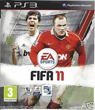 FIFA 11 for Playstation 3 PS3 - with box & manual