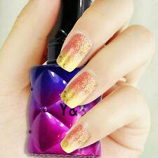 10 ML Glitter Nail Art UV Led Temperature Color Change Soak Off Gel Polish #43