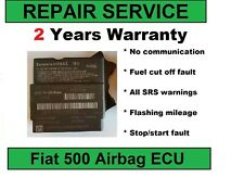Fiat  51870005, 51918659 airbag ECU REPAIR SERVICE  - no communication fault