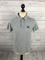 TOMMY HILFIGER Polo Shirt - Size Medium - Grey - Great Condition - Men's