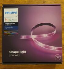 Philips Hue 6.6 Ft. Lightstrip Plus Dimmable LED Smart Light, Multicolor *SEALED