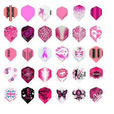 10 New Sets Ladies Standard Dart Flights Girl Variety Design Wholesale Prices