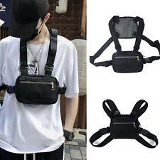 Chest Rig Bags Running Phone Holder Front Pack Streetwear Sports Shoulder Bag