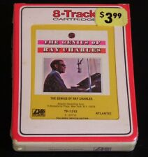 8 Track-The Genius Of Ray Charles-1959 -SEALED!