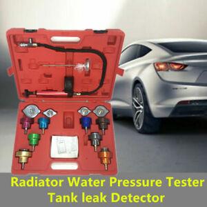 14PCS Car Radiator Water Pressure Tester Tank leak Detector for Cooling System