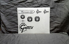 Gretsch Drums 8 Sticker Sheet<<>>