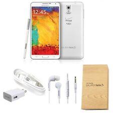 Samsung Galaxy Note 3 N900V Unlocked 32GB 3GB RAM 13MP 4G LTE Smartphone White