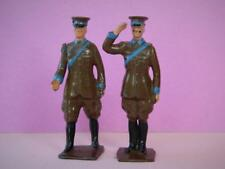 BRITAINS VINTAGE 1927 VERY RARE LEAD AUTOMOBILE SCOUTS SALUTING & WALKING #578