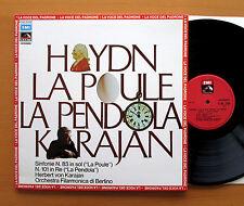 C 065-02298 Haydn Symphony no. 83 & 101 Karajan 1971 NEAR MINT Gatefold