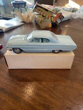 1964 Ford Galaxie 500XL Skylight Blue Dealer Promo 1:25 Scale Boxed Excellent