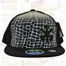 TopCul Urban Black Logo Giraffe Print Hip Hop Rap Streetwear Strapback Hat Cap