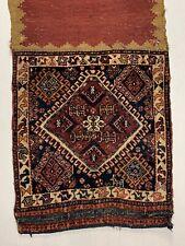 Wonderful Old Antique Kashkuli Qashqai Bag 3.9x1.10 Ft
