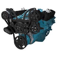 Black Diamond Pontiac Serpentine System for 350-400, 428 & 455 V8 - PS & Alt.