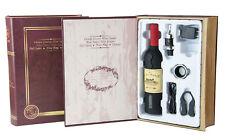 WINEMASTER Sacacorchos Eléctrico para Botella de Vino con Corta Papel (600158B)