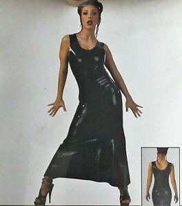 Latex Maxikleid, LateX Collection, XL, Gummikleid, Schwarz, Rubber Dress
