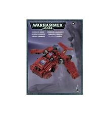 WARHAMMER 40K - CANNONIERA STORMRAVEN GUNSHIP - ANGELI SANGUINARI BLOOD ANGELS