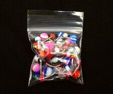 """100pc Lots of 2"""" x 2"""" Zip Bags Ziploc Baggies, great for jewelry sales!"""