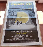 FutureWorld Movie Poster, Original, Folded, One Sheet, year 1976, Style B, USA
