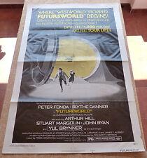 FutureWorld Movie Poster, Original, Folded, One Sheet, year 1976, Style B, USA