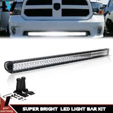 "Fit 2010-2017 Dodge Ram 2500/3500 Hidden 52"" LED Light Bar Fog Driving Truck"