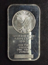 Sunshine Minting Silver Eagle Silver Art Bar A4640