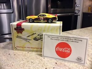 """Matchbox Collectibles YMC05/B-M 1970 Ford Boss Mustang  """"COCA-COLA"""" NEW"""